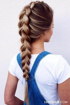 Back to school hair styles.