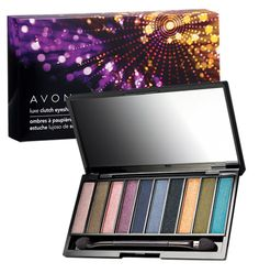 Luxe Clutch Eyeshadow. 10 shimmery eyeshadows - universal shades that look great on all skin tones - in one luxurious clutch! Dual-ended applicator. Comes in a gift box. $6.99