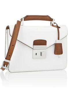 Michael Kors|Brompton Mini Briefcase leather shoulder bag|NET-A-PORTER.COM