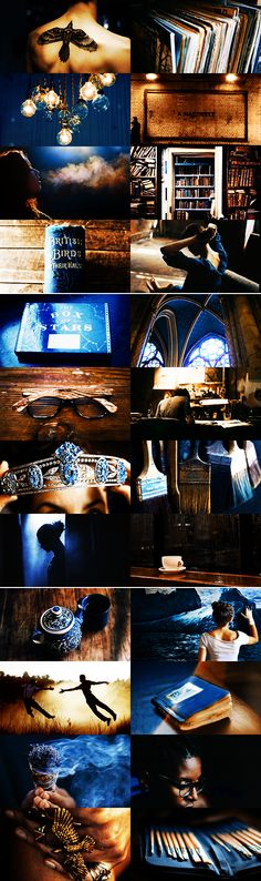 hp aesthetic → ravenclaw