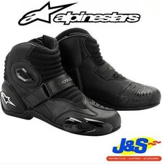 Alpinestars S-MX 1 Black Shadow Mens Street Riding Motorcycle Boots Motorcycle Helmets For Sale, Mens Motorcycle Boots, Motorcycle Clothes, Motorcycle Garage, Cheap Boots, Cool Boots, Riding Gear, Riding Boots, Womens Harley Davidson Boots