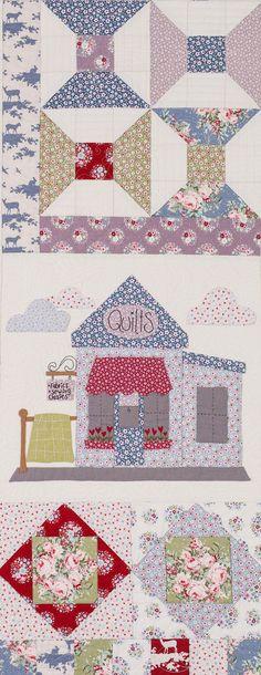 Картинки по запросу quilt de Natalie Bird