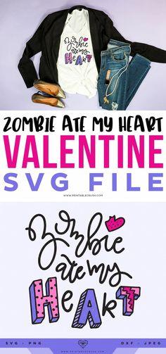 Anti-Valentine Free SVG File - Free Valentine SVG File - Zombie Ate My Heart SVG File - Personal Use SVG File- Printable Crush #valentinesday #antivalentinesday #printablecrush #svgfiles #cricutcutfiles #freesvgfiles #valentinecricutcrafts Happy Valentine Day HAPPY VALENTINE DAY | IN.PINTEREST.COM WALLPAPER #EDUCRATSWEB