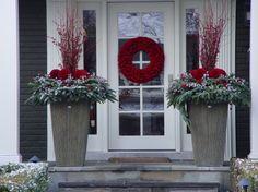 Buitendecoratie voordeur