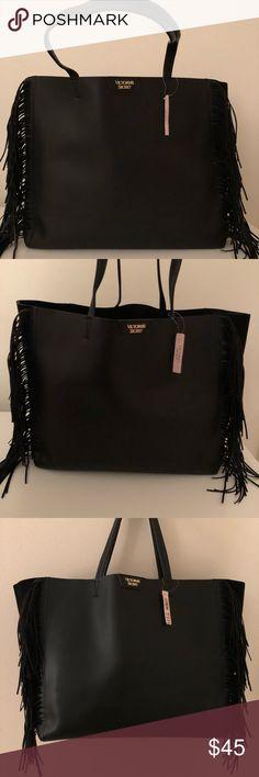 Victoria's Secret Large Fringe Tote Victoria Secret Large Fringe Tote. New With Tags. Victoria's Secret Bags Totes