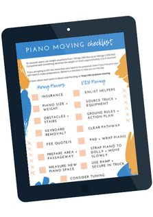 Are you moving an acoustic or heavy digital piano anywhere soon? Know anyone who is? You'll want to save this for later. Read more about the entire process on the blog: How To Move A Piano Without Breaking Your Back!  #Pianomovers #pianomoving #piano #lovepiano #pianomusic #pianolover #pianos Moving A Piano, Digital Piano, Your Back, Piano Music, Read More, Acoustic, Learning, Tips, Blog