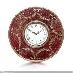 WIGSTRÖMO Henrik, FABERGÉ, 1908-1917 (Russia) Title : A CLOCK Date : 1903/1904…