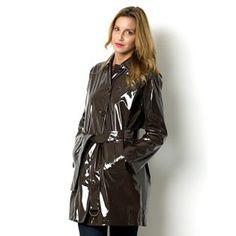 Trench and PVC Rain Coat zz