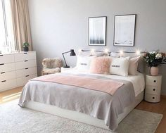 Comfortable Apartment Bedroom Decor Ideas decorating the apartment bedroom is challenging. Since it is a minimalist bedroom, you need to be wiser in applying the idea of room decoration. Teenage Girl Bedrooms, Pink Bedrooms, Girls Bedroom, Small Bedrooms, Teenage Beds, Apartment Bedroom Decor, Room Ideas Bedroom, Bed Room, Bedroom Furniture