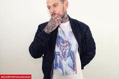 Blue light T-shirts for sale. Www.garvinvaughan.co.uk #garvinvaughan #gv #art #tshirt #fashion #streetstyle #streetfashion #instagram #instafashion #fashionblogger #fashionkilla #urban #trend #tattoo @mrkelly1805