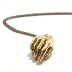 VERAMEAT's beautiful silver and gold hand's on necklaces