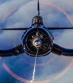 Ww2 Aircraft, Military Aircraft, Air Magic, The Art Of Flight, F4u Corsair, Air Space, Vintage Airplanes, Military Art, Flyers