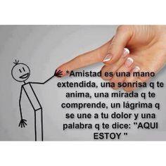 Amistad... ༺✿ƬⱤღ  https://www.pinterest.com/teretegui/✿༻