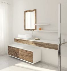 How to Choose Modern Bathroom Drawers for Your Home Beautiful Weathered Wood, Bathroom Furniture Bathroom Tile Cleaner, Top Bathroom Design, Bathroom Furniture, Wooden Bathroom, Bathroom Vanity, Bathroom, Bathroom Furniture Vanity, Bathroom Design, Wood Bathroom