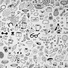 ... #christellelardenois #doodles