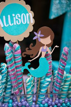 So without pulling any punches, her mom and pop set out to throw the most beautifully orchestrated mermaid party to rival all others.