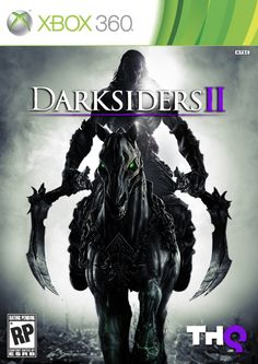 "Official Xbox 360 cover art for ""Darksiders 2"""