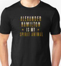 alexander hamilton is my spirit animal Unisex T-Shirt