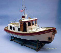 Victory Tug - Model Boat Kit by Dumas Model Boats