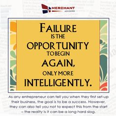 How failure is success in the making for your small business?