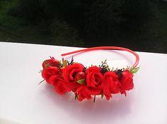 AtaJanson / Kvetinová čelenka do vlasov