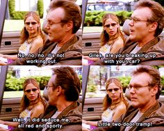 Giles are you breaking up with your car?