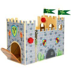 Premier château fort en bois Fortwood Oxybul pour enfant de 3 ans à 8 ans - Oxybul éveil et jeux