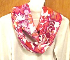 Infinity scarf circle scarf cowl scarf  soft pink by sewinggranny, $15.00