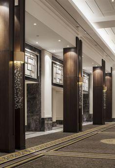 decorative columns, stylish element in modern interior | Columns ...