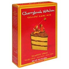 Cherrybrook Kitchen Yellow Cake Mix Box Pack of 6 *** Visit the image link more details. (This is an affiliate link) Dairy Free Eggs, Yellow Cake Mixes, Baking Supplies, How To Make Bread, Food Allergies, Healthy Baking, Baking Ingredients, Gourmet Recipes, Kitchen Yellow