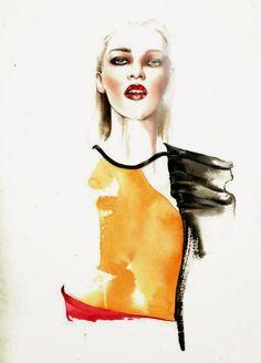 As Ilustrações de Moda por Antônio Soares | Design Innova