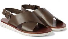 Men's Leather Sandals: 5 Designer Sandals for Summer
