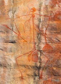 Ubirr Aboriginal Art Rock - Parc national de Kakadu, Territoire du Nord, Australie