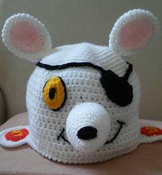 Danger mouse hat/lookalike/novelty/winter by bootneckbabies on Etsy