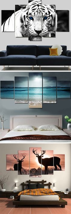 Home Art Painting Canvases Projects 28 Super Ideas Home Wall Decor, Art Decor, Canvas Art Prints, Canvas Wall Art, Canvas Walls, Apartment Wall Art, Cheap Wall Art, Wall Art Sets, Decoration