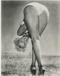 Marilyn..upside down!!