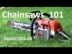 Chainsaws 101 - Safe Operation - What You Need To Know Logging Equipment, Lawn Equipment, Outdoor Power Equipment, Lawn Mower Maintenance, Lawn Mower Repair, Chainsaw Repair, Stihl Chainsaw, Yard Tools, Engine Repair