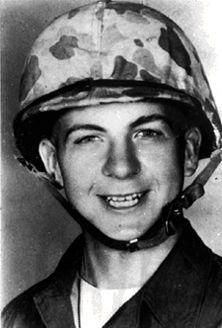 17 year old Lee Harvey Oswald on 26th of October, 1956, in San Diego, when he joined the United States Marines and obtained his qualifications as an aviation electronics operator. #oswald #harvey #JFK