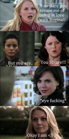 OUAT- Emma is in love with Regina... #SwanQueen <3