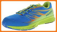 buy popular b6bf8 50b11 Salomon Men s Sense Link Running Shoe, Union Blue Granny Green George  Orange, 13 M US ( Partner Link)