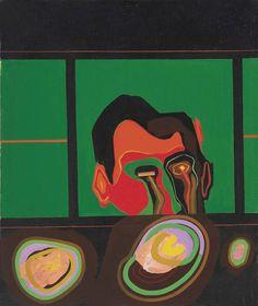 Allen Jones RA, Interesting Journey, Oil on canvas. 61 x LONDON, Private collection. Chelsea School Of Art, Allen Jones, Glitter Bodysuit, Tate Gallery, Royal Academy Of Arts, Royal College Of Art, High Art, Cultura Pop, Artist Art