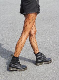Large Fishnet Stockings