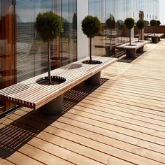 Decoration Exterieur - Home, Room, Furniture and Garden Design Ideas Outdoor Office, Outdoor Cafe, Outdoor Seating, Outdoor Decor, Garden Furniture Design, Urban Furniture, Garden Design, Outdoor Furniture, Space Furniture