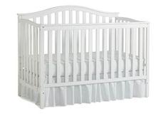 BABY CONVERTIBLE CRIB: Nursery 101 Sidney Convertible Crib, White: Baby