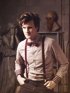 The beloved eleventh Doctor~played by Matt Smith.