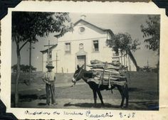 O vendedor de lenha, Agosto de 1938, Paracatu MG. Otto Garnfield Acervo Otto Garnfield