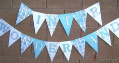 Winter Wonderland Party Banner-http://mypartyisover.com/viewlisting.php?view=420