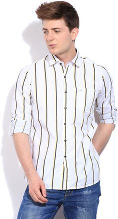 Integriti Men's Striped #Casual #Shirt #Fashion #Style #BeUrself