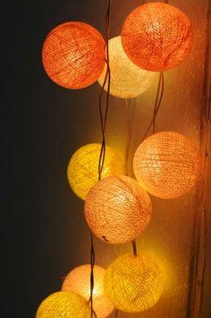 Pátio vertente luz da corda do algodão bola de decoração de casamento suprimentos de casamento decoração de festa de cor sombra de decoração - portuguese.alibaba.com