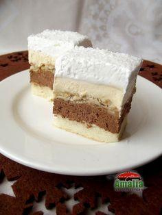 Romanian Desserts, Romanian Food, Romanian Recipes, Sweets Recipes, Cake Recipes, Cooking Recipes, Food Cakes, Homemade Cakes, Something Sweet